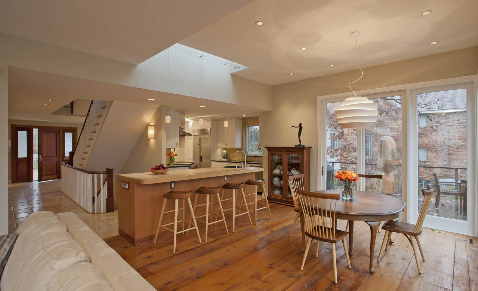 CHECA Architects PC, Dining Room, Addition, Renovation, Arlington, VA