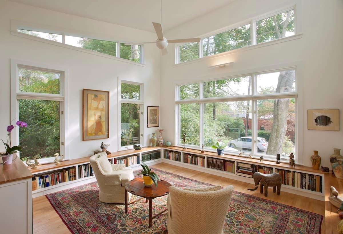 CHECA Architects PC, Living Room, Addition, Palisades, Washington, DC
