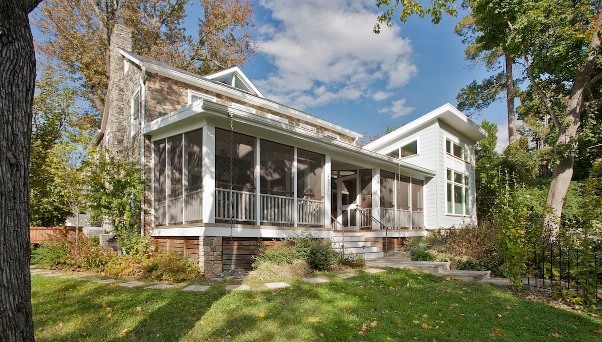 CHECA Architects PC, Exterior, Addition, Palisades, Washington, DC