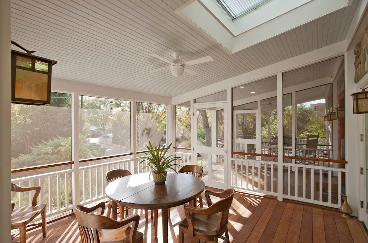 CHECA Architects PC, Front Porch, Addition, Palisades, Washington, DC