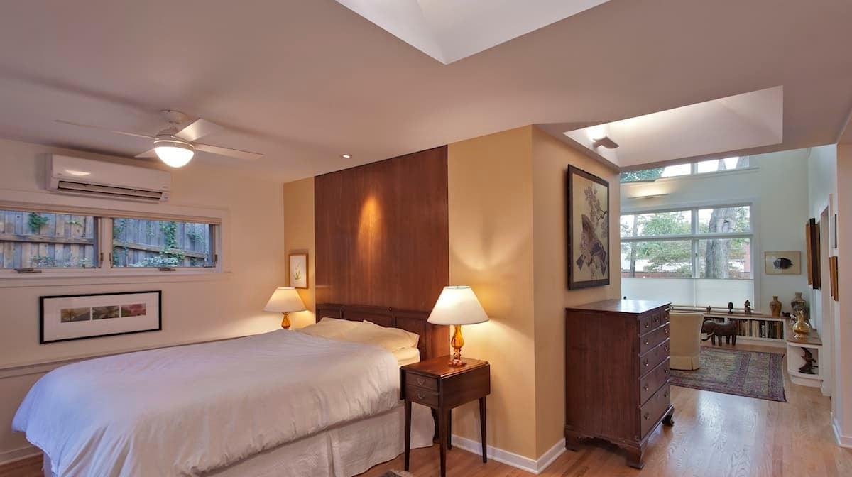 CHECA Architects PC, Bedroom, Addition, Palisades, Washington, DC