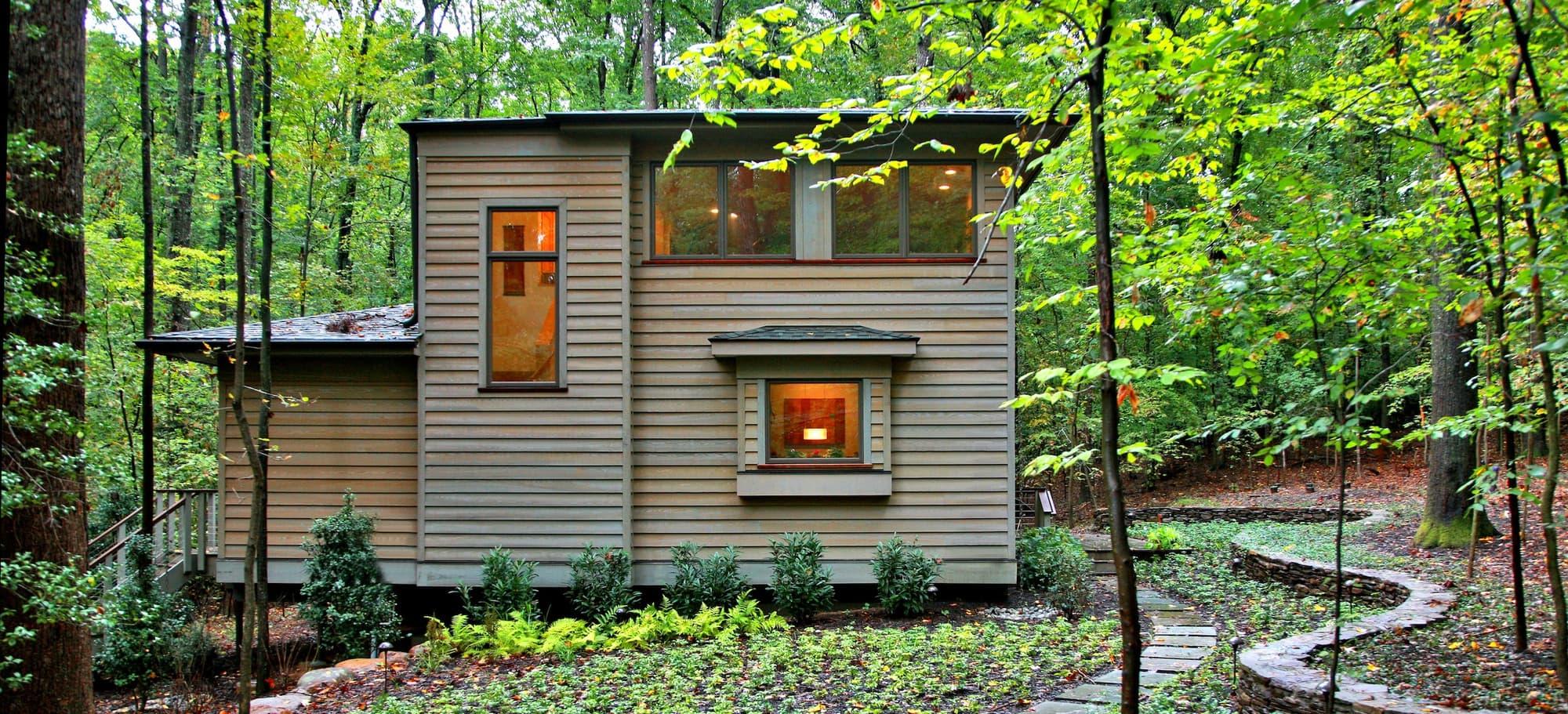 CHECA Architects PC, Exterior, New Construction, Great Falls, VA