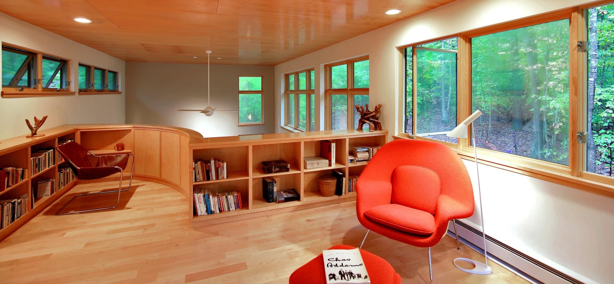 CHECA Architects PC, Study, New Construction, Great Falls, VA