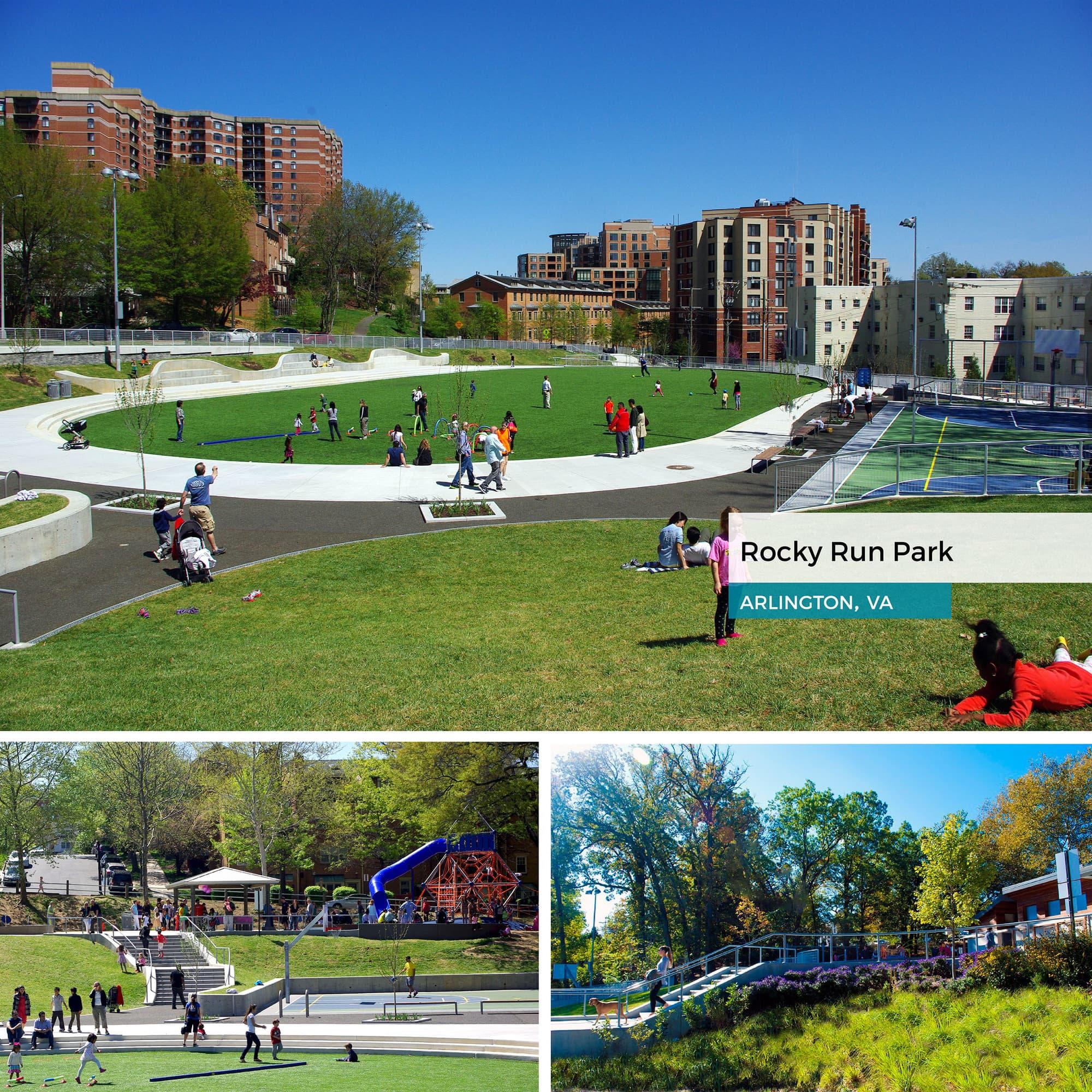 Rocky Run Park in Arlington, VA