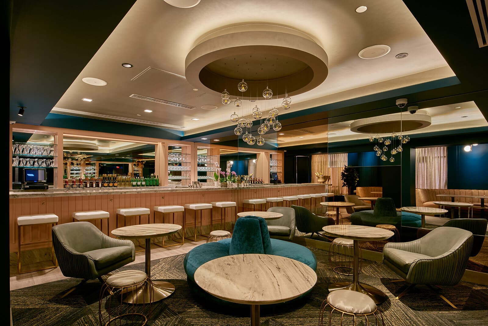 Ms Peacock's Champagne Lounge by CORE architecture + design