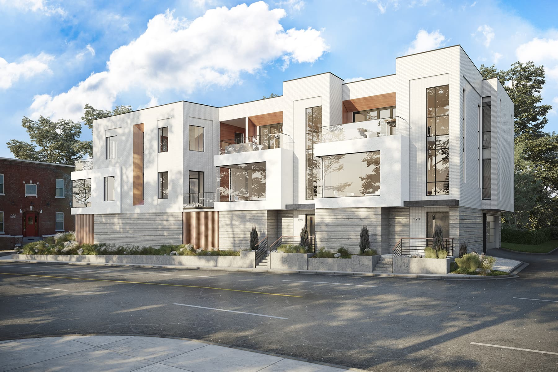 Urban Infill Townhomes