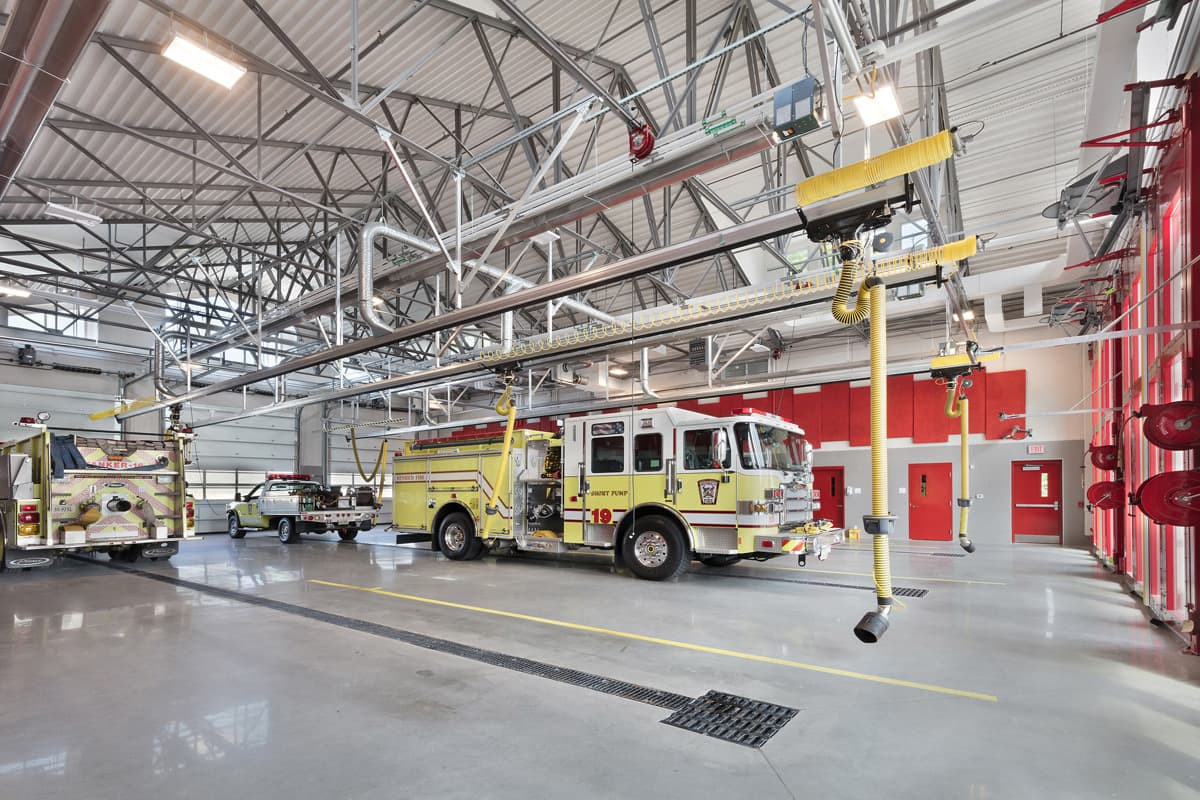 """Henrico County Fire House #19 was an easy choice for selection as the 2018 Gold Medal Winner in the Satellite Station Category of the Station Design Competition. BKV Group shows a clear understanding of what constitutes a good fire station design."" - Jury Member, 2018 Station Design Competition"