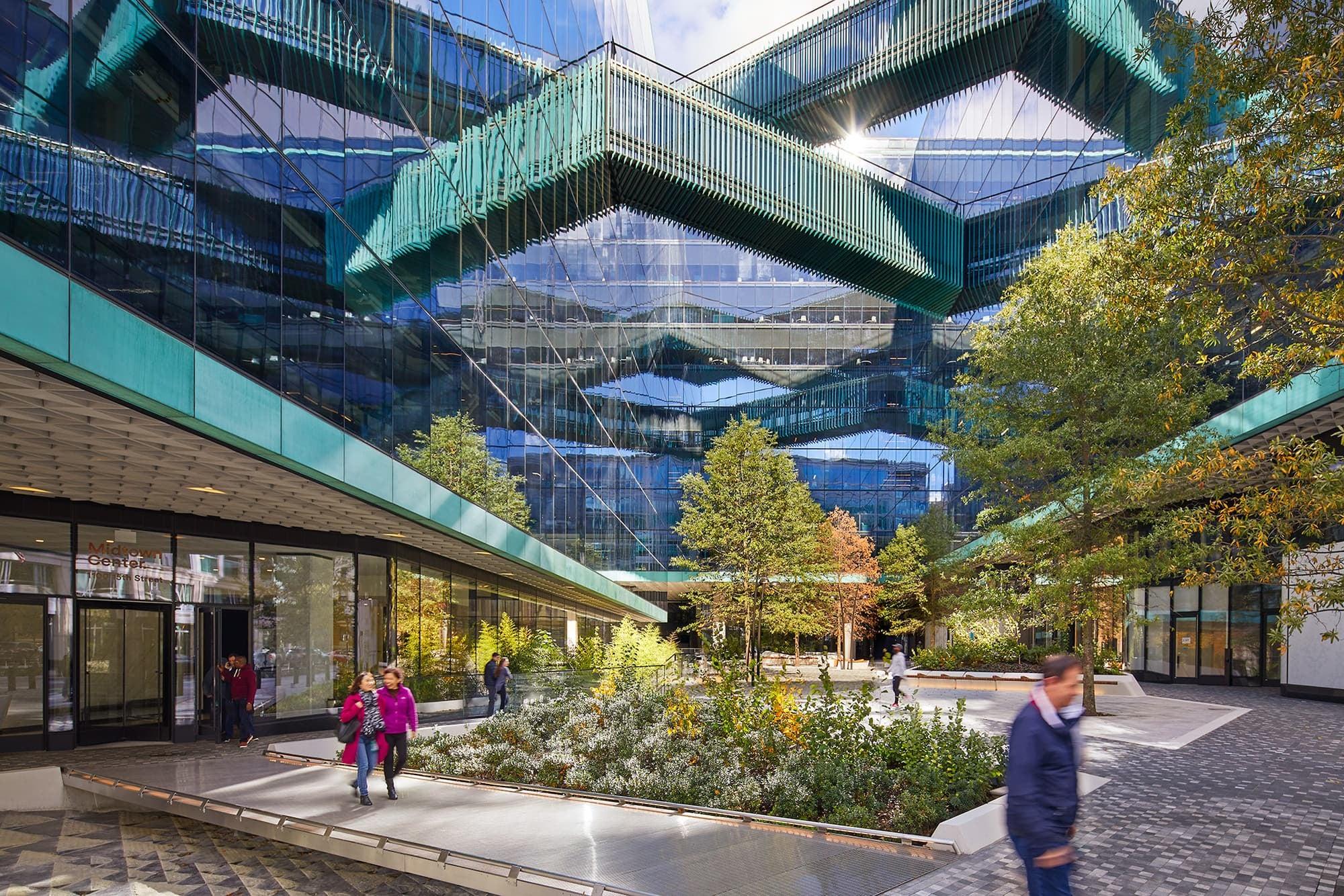 Midtown Center - © Judy Davis/HDPhoto for Clark Construction